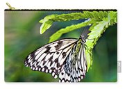 Rice Paper Butterfly 7 Carry-all Pouch