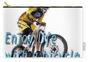 Riding Is Fun. Enjoy Life With A Bicycle  Carry-all Pouch