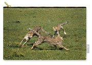 Ring Around The Cheetahs Carry-all Pouch