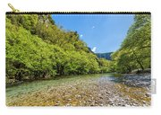 River In Kleidonia Zagora Carry-all Pouch