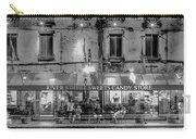 River Street Sweets Candy Store Black White  Carry-all Pouch