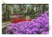 Road With Flowers Carry-all Pouch
