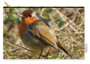 Robin In Hedgerow Carry-all Pouch