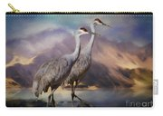 Rocky Mountain Sandhill Cranes Carry-all Pouch