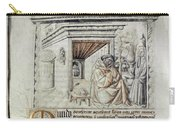 Roger Bacon (1214?-1294) Carry-all Pouch