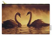 Romantic African Swans Carry-all Pouch