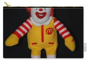 Ronald Mcdonald Carry-all Pouch