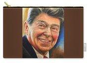 Ronald Reagan Portrait Carry-all Pouch