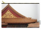 Roof Forbidden City Beijing China Carry-all Pouch