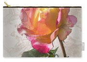 Rosa, 'glowing Peace' Carry-all Pouch