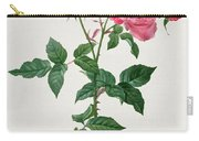 Rosa Indica Carry-all Pouch