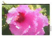 Rose Of Sharon In Abstract Carry-all Pouch
