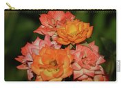 Pink And Orange Roses Carry-all Pouch