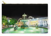 Rossio Square Lisbon Carry-all Pouch