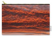Rosy Sky Carry-all Pouch by Michal Boubin