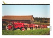 Row Of Antique Farmalls Carry-all Pouch