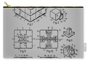 rubik's cube Patent 1983 Carry-all Pouch