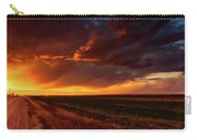 Rural Sunset Beauty Carry-all Pouch