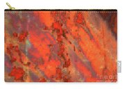 Rust Abstract Carry-all Pouch