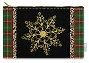 Rustic Snowflake-jp3695 Carry-all Pouch