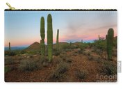 Saguaro Dusk Carry-all Pouch