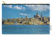 Sail Boat And Cathedral Carry-all Pouch