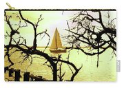 Sailboat Golden Sunset Carry-all Pouch
