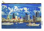 Sailing In San Diego Bay  Carry-all Pouch