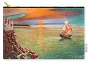 Sailing Ship And Castle Carry-all Pouch