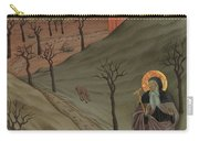 Saint Anthony The Abbot In The Wilderness Carry-all Pouch