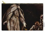 Saint Francis In Ecstasy Carry-all Pouch