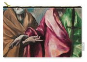 Saint Peter And Saint Paul Carry-all Pouch
