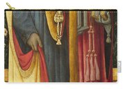 Saints Peter And Jerome Carry-all Pouch