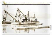 Salvage Barge, Delaware River, Philadelphia, C.1900 Carry-all Pouch