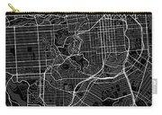 San Francisco California Usa Dark Map Carry-all Pouch
