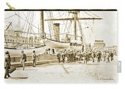 San Francisco Wharf, 1903, Vintage Photograph Carry-all Pouch