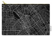 San Jose California Usa Dark Map Carry-all Pouch