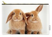 Sandy Lop Rabbits Carry-all Pouch