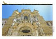 Santa Cruz Monastery Facade Carry-all Pouch