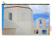 Santorini Church Dome Carry-all Pouch