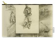 Scenes Of Peasant Life Carry-all Pouch