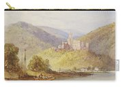 Schloss Stolzenfels From The Banks Of The Lahn Carry-all Pouch