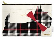 Scottish Terrier Tartan Plaid Carry-all Pouch