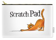 Scratchy Cat Carry-all Pouch