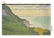 Seascape At Port-en-bessin Normandy Carry-all Pouch