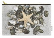 Seashells Carry-all Pouch by Joana Kruse