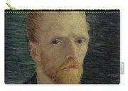 Self-portrait Paris July  August 1887 Vincent Van Gogh 1853  1890  Carry-all Pouch