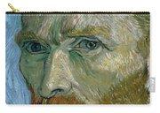 Self-portrait Carry-all Pouch by Vincent Van Gogh
