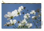 Sensation Cosmos Bipinnatus White Cosmos Standing Up Towerd Sk Carry-all Pouch