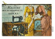 Sewing Machine Ad, C1880 Carry-all Pouch